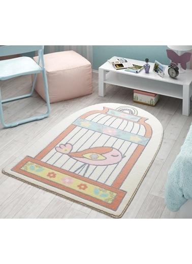 Confetti Happy Cage 100X150 Somon Oymalı Renkli
